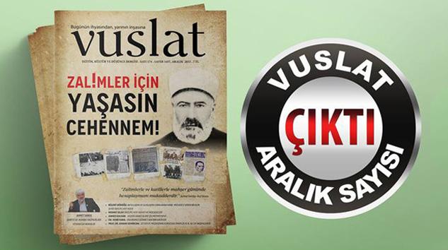 Vuslat Dergisi Aralık Sayısı Çıktı!