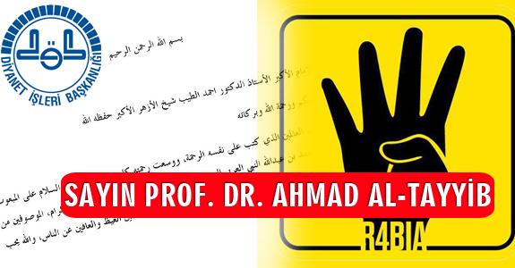 SAYIN PROF. DR. AHMAD AL-TAYYİB