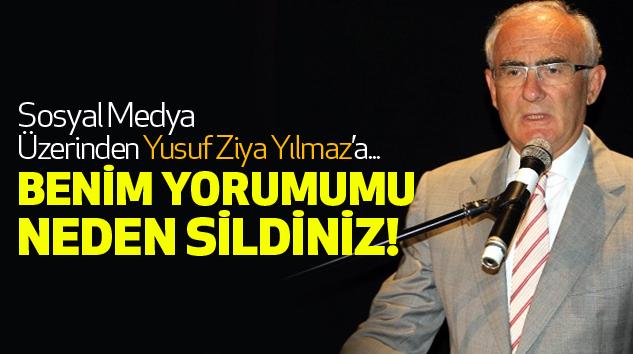 Sosyal Medya Üzerinden Yusuf Ziya Yılmaz'a...