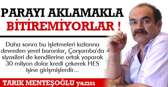 PARAYI AKLAMAKLA BİTİREMİYORLAR!..