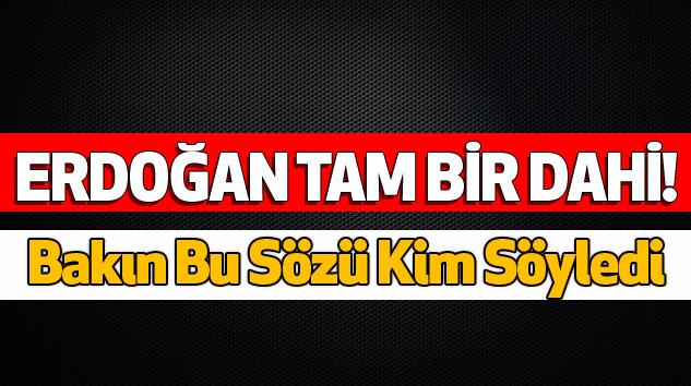 Ali Nesin: Erdoğan Tam Bir Dahi!