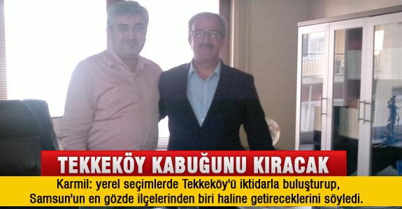 Tekkeköy Kabuğunu Ak Partili Belediye İle Kıracak ..