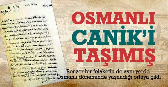 Osmanlı Canik'i Taşımış