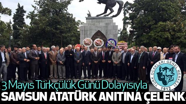 Samsun Atatürk Anıtına...