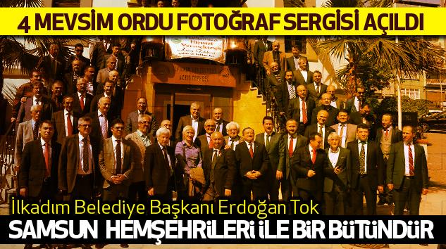 Samsun'da 4 Mevsim Ordu Fotoğraf Sergisi Açıldı..