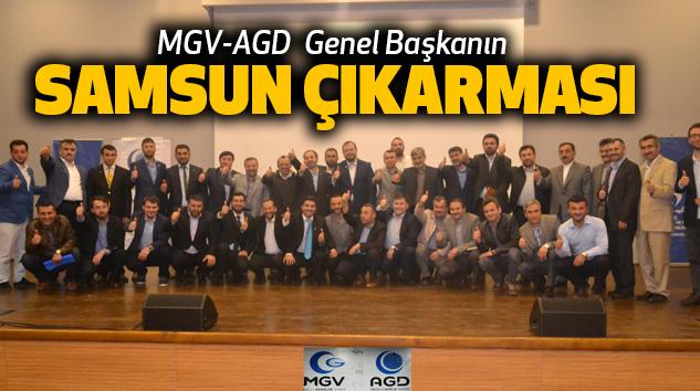 MGV-AGD Genel Başkanın Samsun Çıkarması