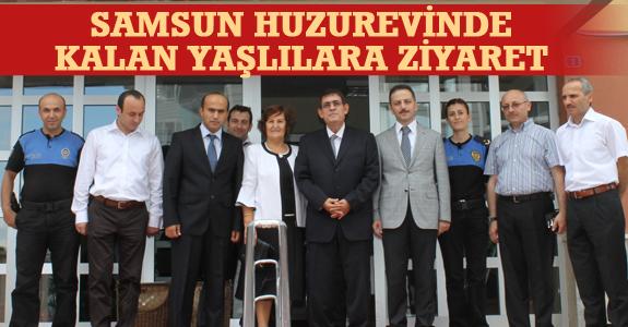 Samsun Huzurevine Ziyaret..