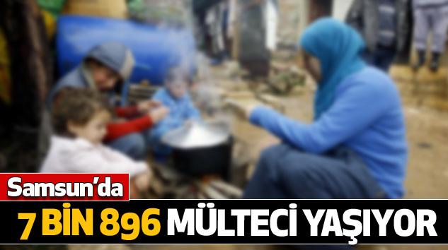 Samsun'da 7 Bin 896 Mülteci Yaşıyor