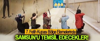 7. Fetih Kupası Bölge Elemelerinde Samsun'u Temsil Edecekler!