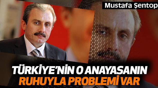 Mustafa Şentop:Türkiye'nin O Anayasanın Ruhuyla Problemi Var
