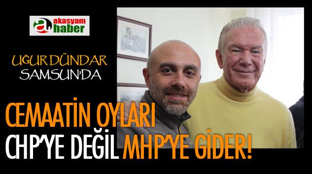 Uğur Dündar Samsun'da Açıklama Yaptı