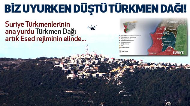 Biz uyurken düştü türkmen dağı..!