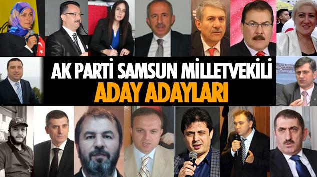 Samsun Ak Parti Milletvekili Aday Adayları