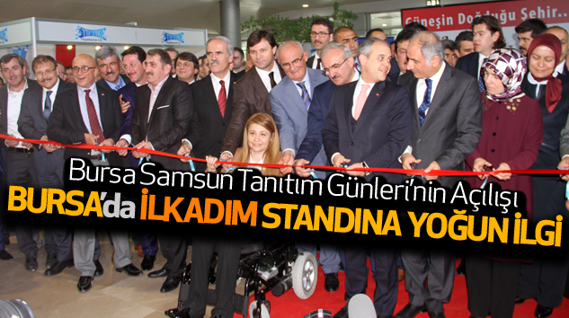 Bursa'da İlkadım Standına Yoğun İlgi