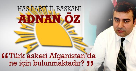 Has Parti İl Başkanı Adnan Öz'ün Basın Açıklaması