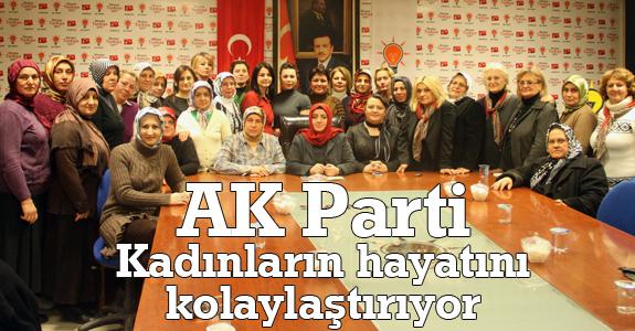Zeynep Gürbüz: AK Parti kadınların hayatlarını kolaylaştırıyor