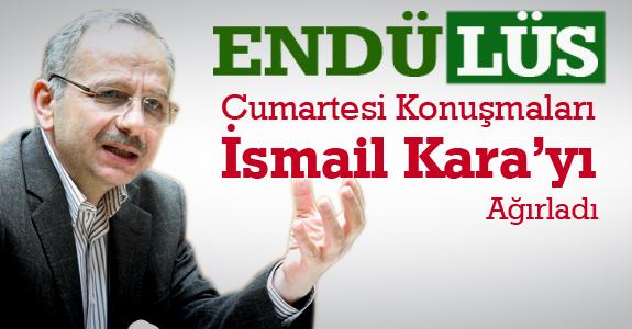 Endülüs Cumartesi Konuşmaları İsmail Kara'yı Ağırladı