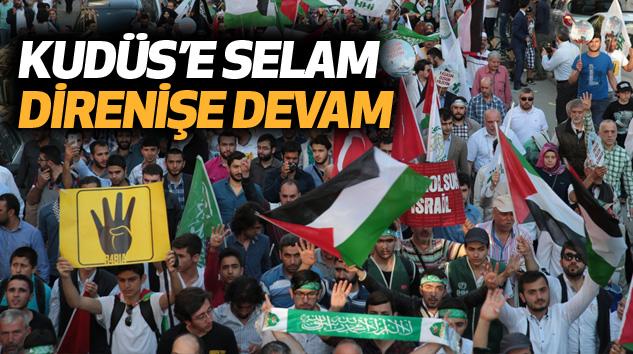 Kudüs'e Selam, Direnişe Devam