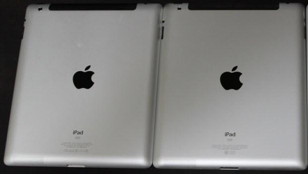 Hafızası dolu olan iPad daha ağır!