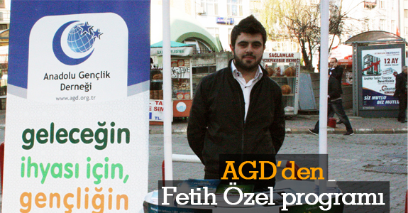 AGD'den Fetih Özel Programı