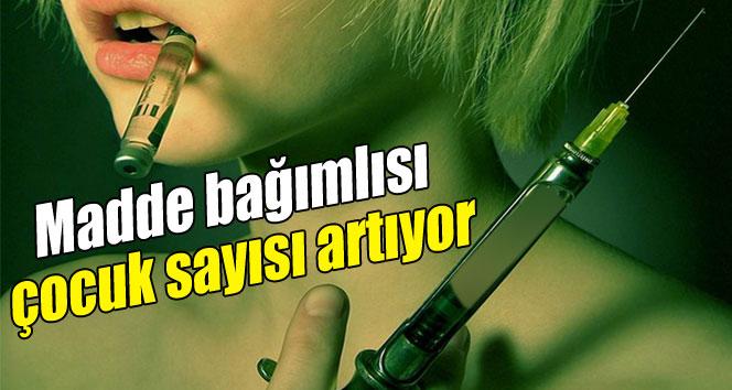 Türkiye'de Bağımlı Çocuk Sayısı Artıyor!