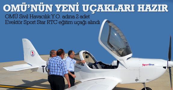 Omü'nün Yeni Uçakları Hazır