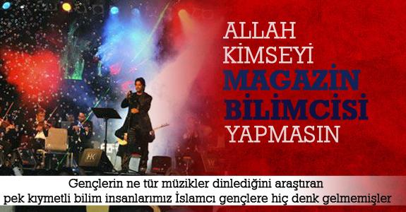 """Allah kimseyi magazin bilimcisi yapmasın"""