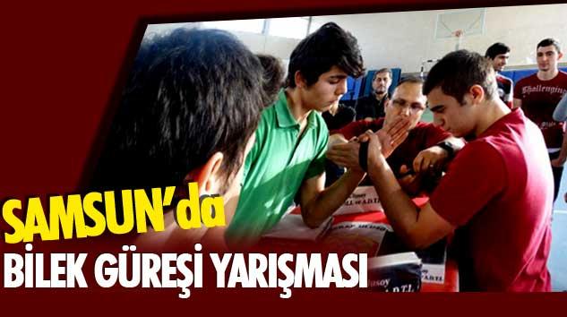 Yıldız Gençlik, Genç Erkekler Samsun Bilek Güreşi Yarışması