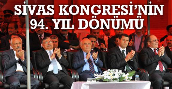 SİVAS KONGRESİ'NİN 94. YIL DÖNÜMÜ