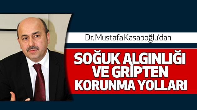Samsun Halk Sağlığı Müdürü Dr. Mustafa Kasapoğlu'danSoğuk Algınlığı Ve Gripten Korunma Yolları