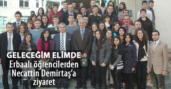 Erbaalı öğrencilerden 'Geleceğim Elimde' projesi