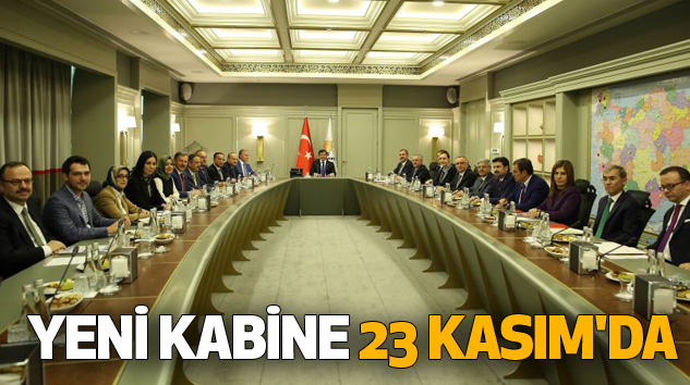 Yeni Kabine 23 Kasım'da