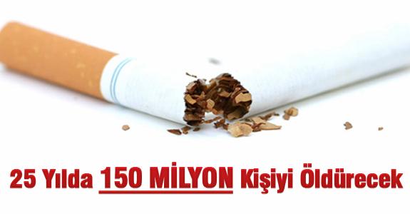 25 Yılda 150 Milyon Kişiyi Öldürecek