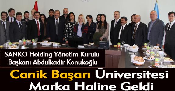 Canik Başarı Üniversitesi marka haline geldi