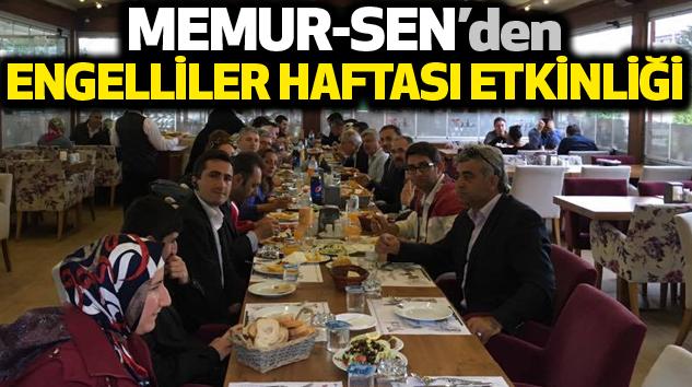 Memur-Sen'den Engelliler Haftası Etkinliği...