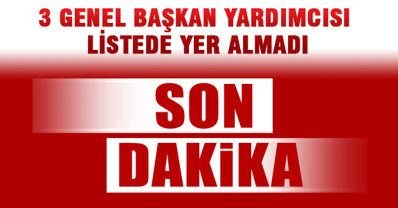 Numan Kurtulmuş, Ahmet Demircan, Süleyman Soylu Ömer Bolat MKYK 'da ..