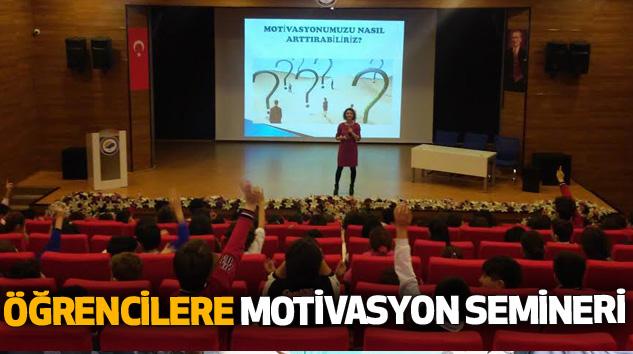 Öğrencilere Motivasyon Semineri