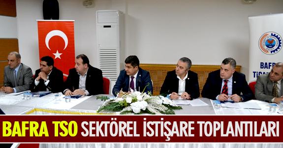 BAFRA TSO SEKTÖREL İSTİŞARE TOPLANTILARI
