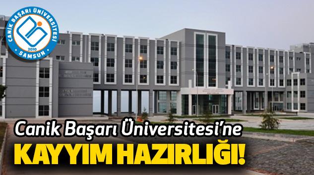Canik Başarı Üniversitesi'ne Kayyım Hazırlığı
