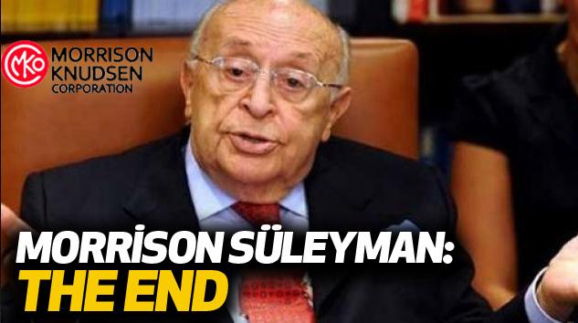 Morrison Süleyman: The End