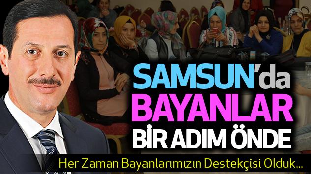 Samsun'da Bayanlar Bir Adım Önde...