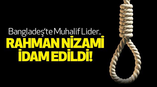 Rahman Nizami İdam Edildi!