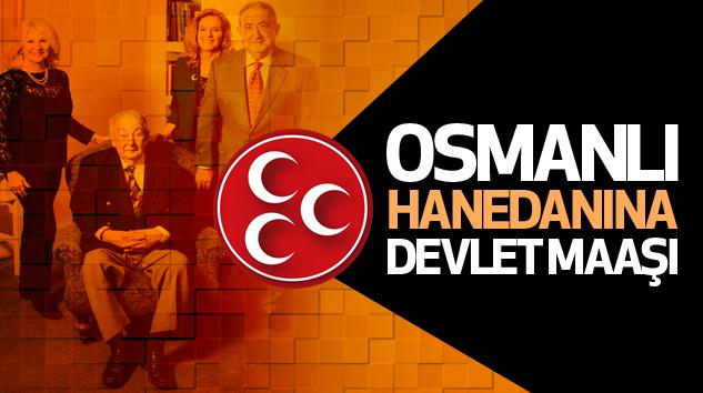 Mhp: Osmanlı Hanedanına...