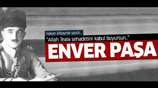 Hakan Albayrak, Enver Paşa'yı yazdı...
