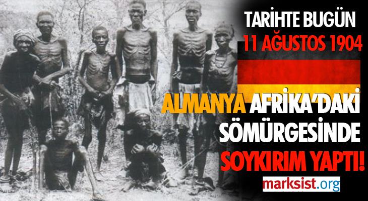 ALMANYA, AFRİKA'DAKİ SÖMÜRGESİNDE SOYKIRIM YAPTI