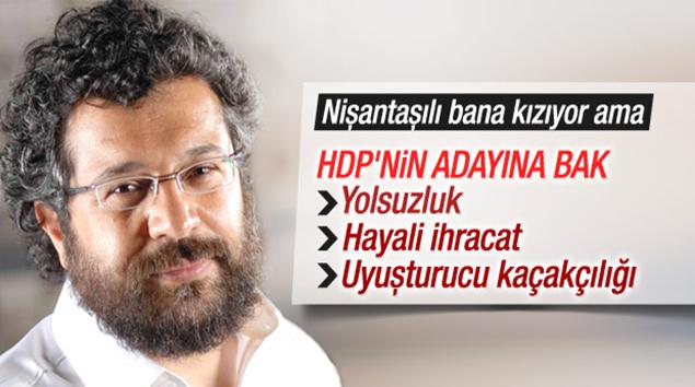 Soner Yalçın HDP'ye Dengir Mir Mehmet Fırat'ı sordu