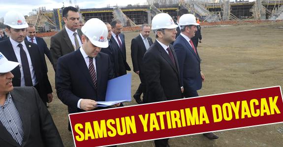 SAMSUN YATIRIMA DOYACAK...