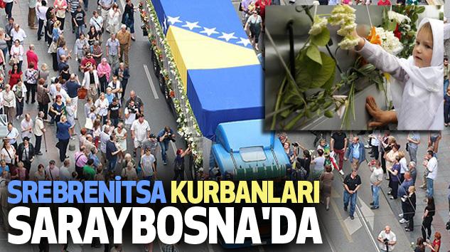Srebrenitsa Kurbanları Saraybosna'da