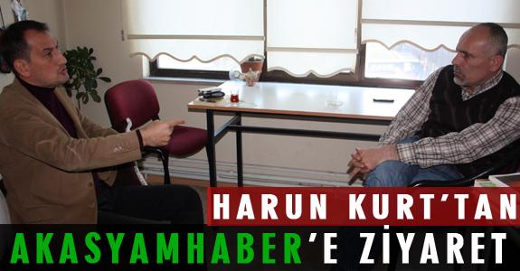 HARUN KURT'TAN AKASYAMHABER'E ZİYARET