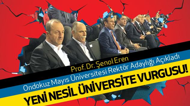 Ondokuz Mayıs Üniversitesi Rektör Adaylığı...